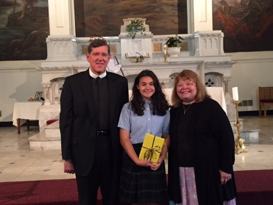 Bishop Fenwick Book Award